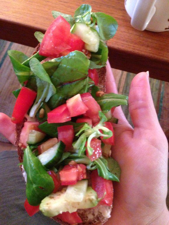 Grönsaksmackor