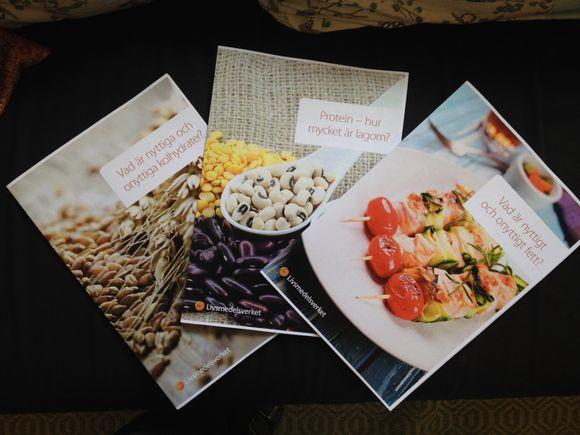 Nytt material om mat och hälsa