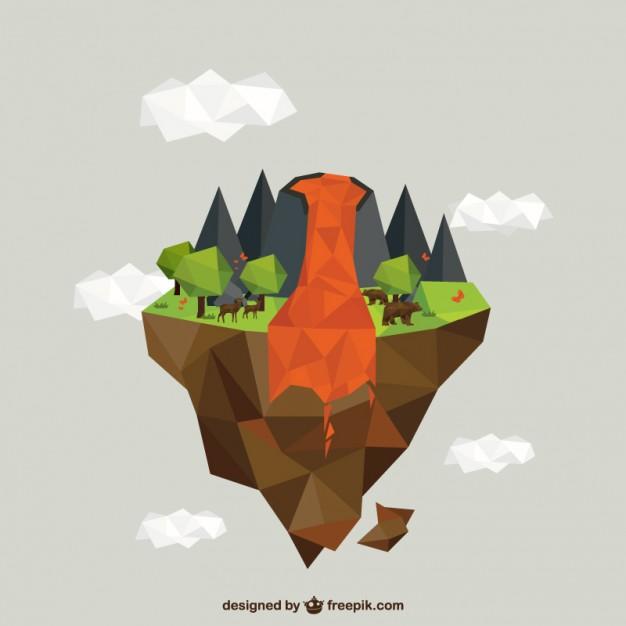 Polygonal-volcano-erupting_23-2147521017